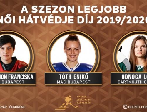 Odnoga Lotti a legjobb női hátvéd díjának jelöltjei között!