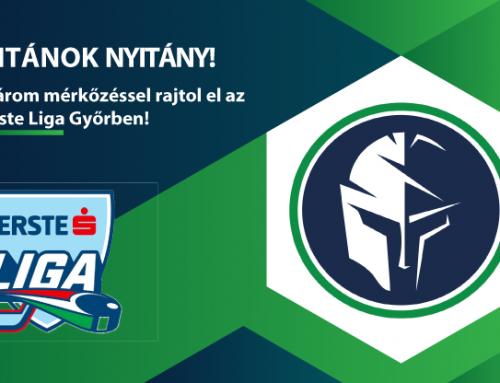 Három mérkőzéssel rajtol el az Erste Liga Győrben!
